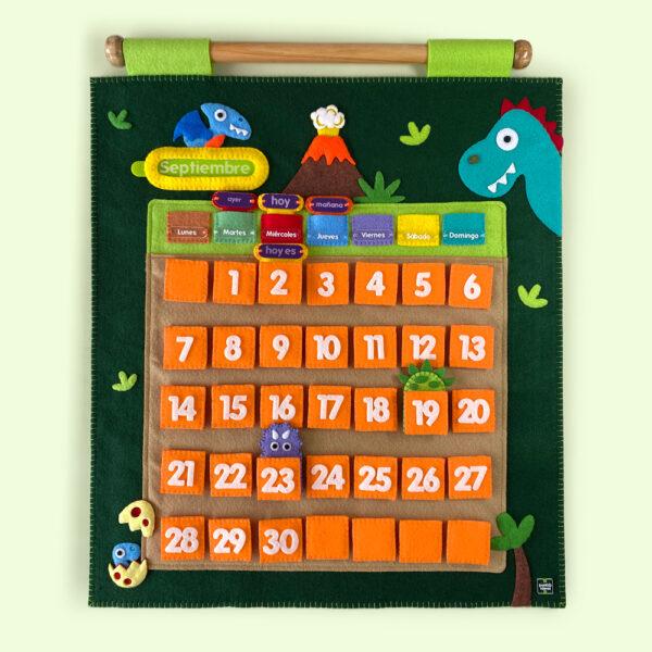 Calendario dinosaurios